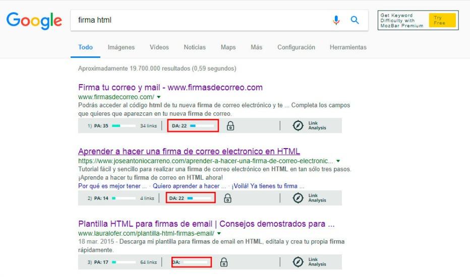 Como rankear una keyword oberva su competencia