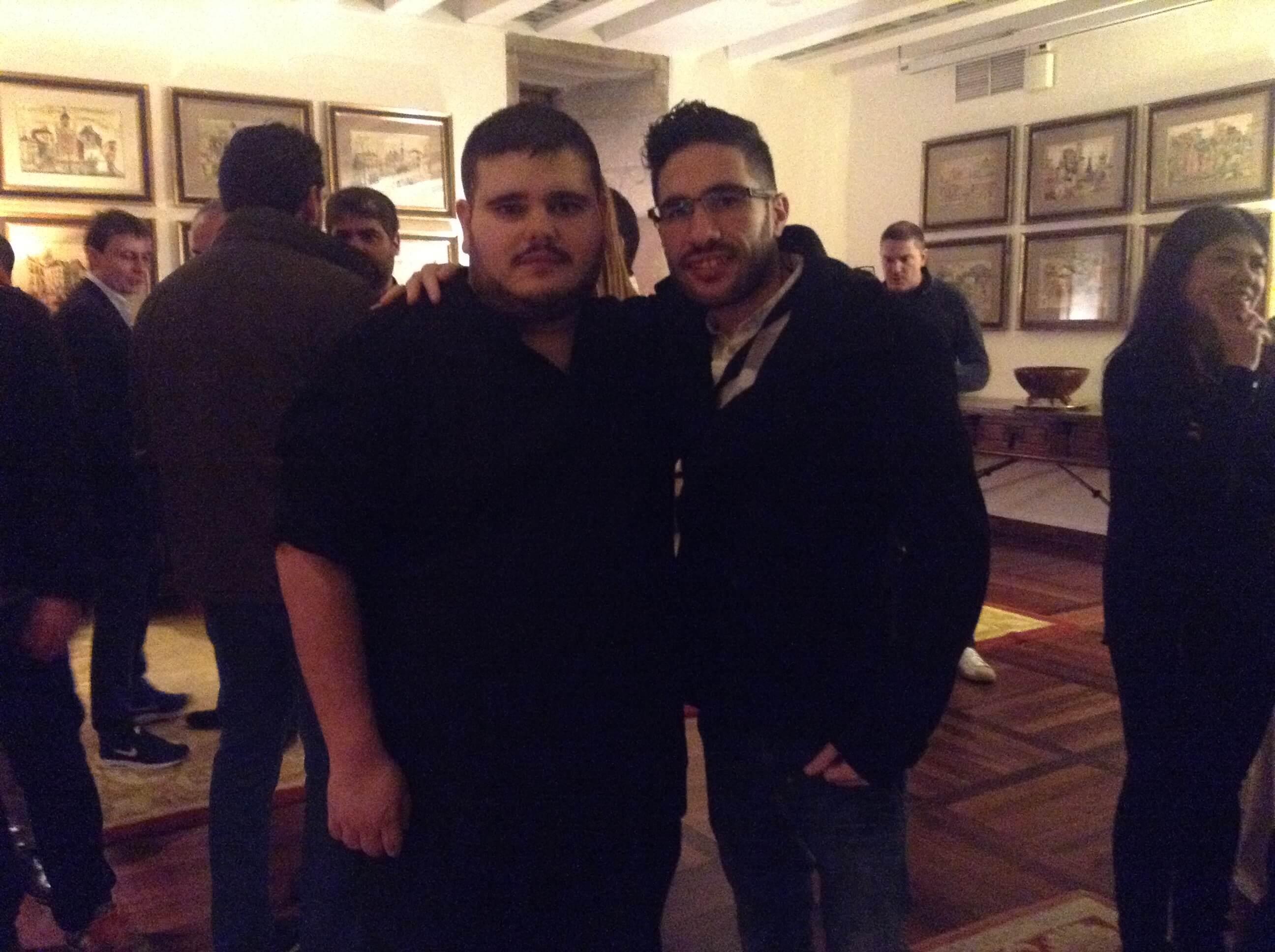 Con Alvaro